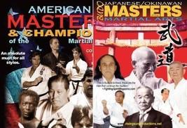 2 DVD SET Japanese Okinawan American Martial Arts Masters rare historical! - $46.71