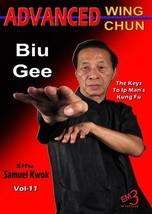 Ip Man Advanced Wing Chun Kung Fu #11 Biu Gee thrusting fingers DVD Samu... - $27.87