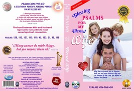 Bible Psalms for My Blessed Wife partner love DVD+ Audio CD Set upliftin... - $16.83