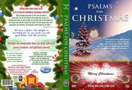 Bible Psalms for Christmas holiday season DVD+ Audio CD Set uplifting pr... - $16.83