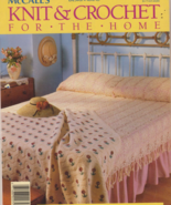 Free Ship McCalls Knit and Crochet for the Home... - $6.99