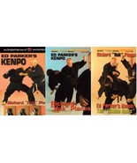 3 DVD Set Ed Parker Chinese American Kenpo Karate techniques Huk Planas - $65.00