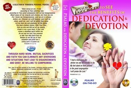 Bible Psalms to Help Your Dedication & Devotion DVD + Audio CD Set prayers - $16.83