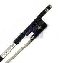 PAITITI 1/4 Violin Bow Satin Carbon Fiber Round Stick Mongolian Horsehai... - $39.19