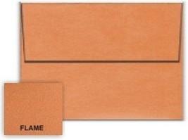 Metallic Orange Flame A7 (5-1/4-x-7-1/4) Envelopes 50-pk - 120 GSM (81lb... - $34.47