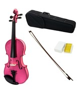 SKY Full Size VN202 Solidwood Pink Violin Beautiful Purfling with Brazil... - $78.39