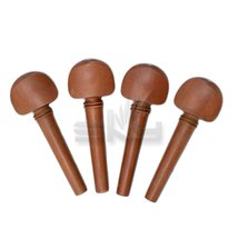 SKY Brand New 4/4 Full Size Jujubewood Violin Pegs Endpin Set - $9.79