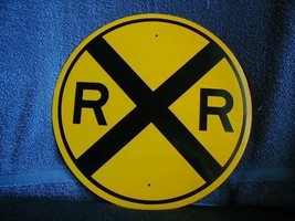 "New Reflective 12"" R.R. Crossing Sign   Free Shipping     Special Pricing - $13.86"