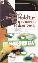 Cardinals Texas Hold Em Tournament Poker Chips Card Game Travel Portfoli... - $12.99