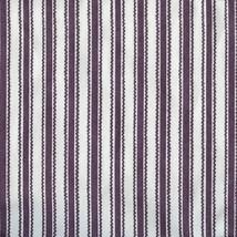 Longaberge 1997 Sweet Treats Basket Liner - Purple Ticking Fabric - $10.73