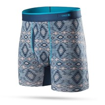 STANCE Basilone Fitted Boxer Brief With Fly Monterey Blue Men sz S Small  - $39.99