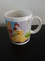 Disney Princess Mug Coffee Tea Belle Aurora Snow White And Cinderella Kitchen - $6.45