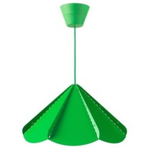 NEW IKEA Jonosfar Green Hanging Modern Umbrella PENDANT LAMP HenrikPreut... - $34.05