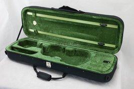 SKY Violin Oblong Case Lightweight with Hygrometer Black/Green - $58.79