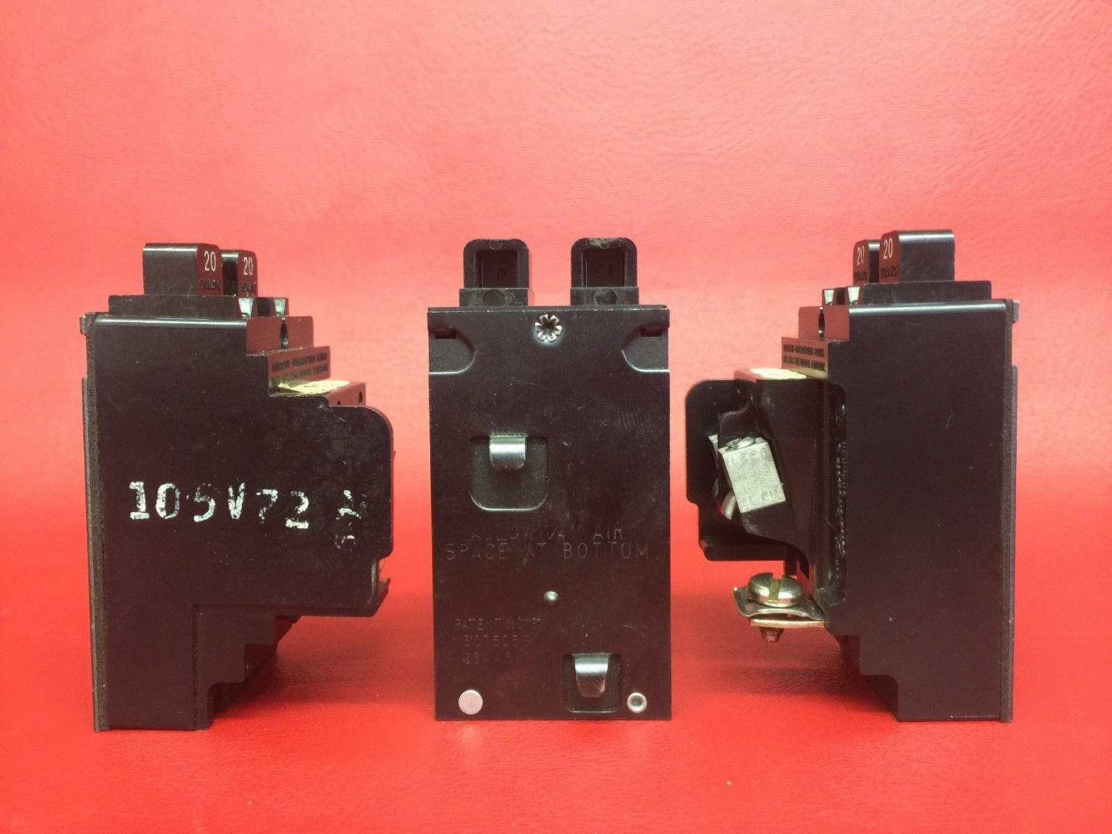 ONE Pushmatic P2020 Twin BREAKER Will fit anyplace! Removed CLT Tab GUARANTEED - Other Circuit ...
