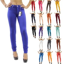 New Colors Sexy Skinny Jeggings Stretch Moleton Jean Leggings Size XS-2X... - $16.44+