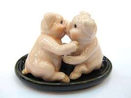 Handicraft Miniature Collectible Porcelain Hugg... - $9.90