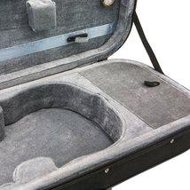 SKY 1/4 Violin Oblong Case Lightweight with Hygrometer Black/Grey image 5