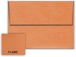 Metallic Orange Flame A2 (4-3/8-x-5-3/4) Envelopes 50-pk - 120 GSM (81lb... - $29.04