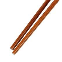 "Dark Brown Wooden Noodles cooking Chopsticks 42cm - 16.5"" Length - 1x Pair image 3"
