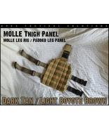 Molle leg panel tan main thumbtall