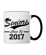 Seniors, Class of 2017  Coffee Mug - €17,68 EUR