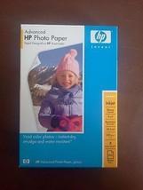 HP Advanced Photo Paper  Glossy 4x6 Borderless 100 Sheets - $19.80