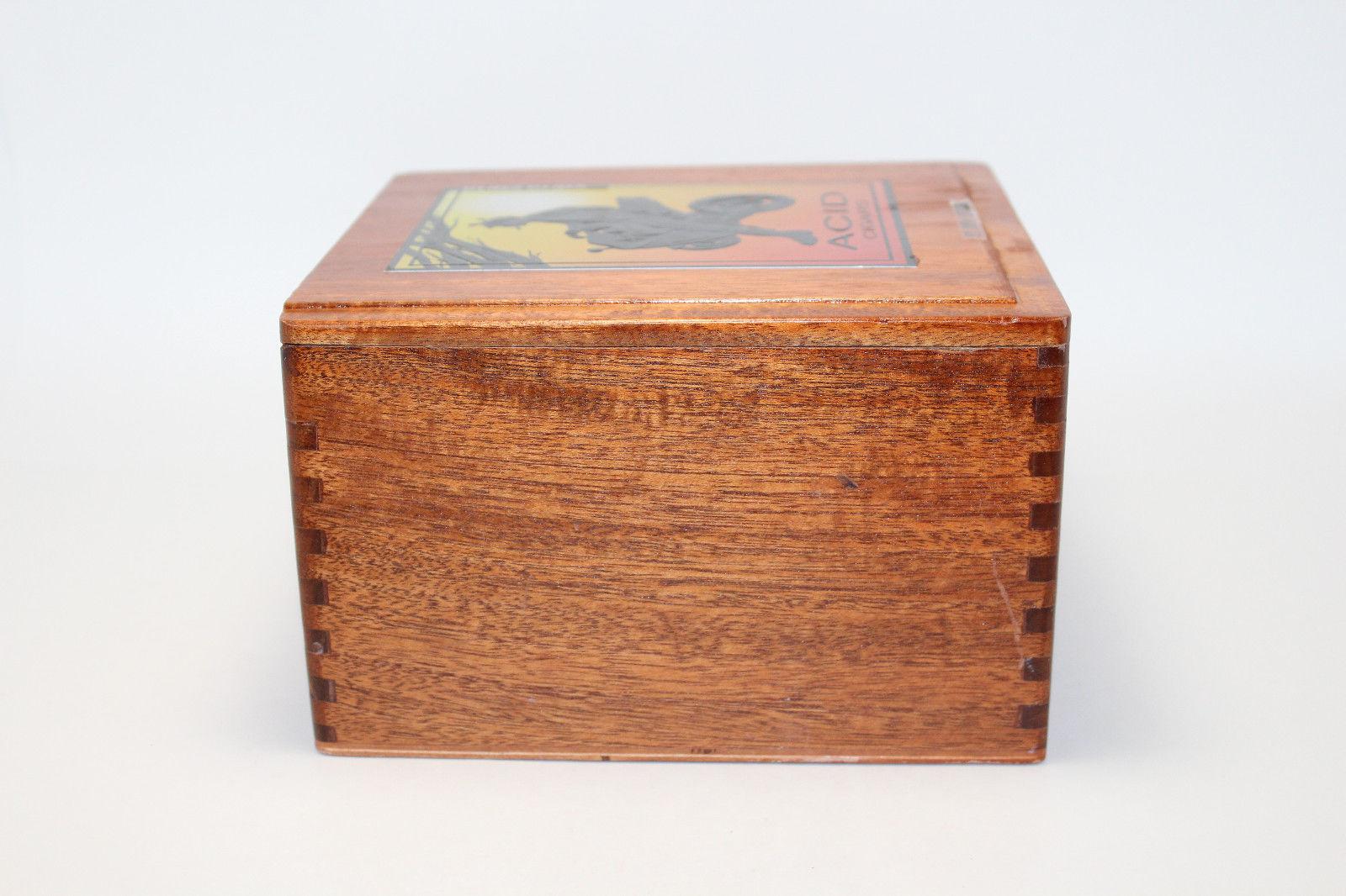 2 Arturo Fuente wood empty cigar craft jewerly box lot