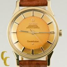 OMEGA homme rempli Constellation or Capuchon CALIBRE 551 Montre Automatique - $4,780.55