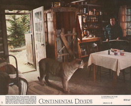 Continental Divide 1981 8x10 color movie photo (mini lobby card) #5 - $7.83