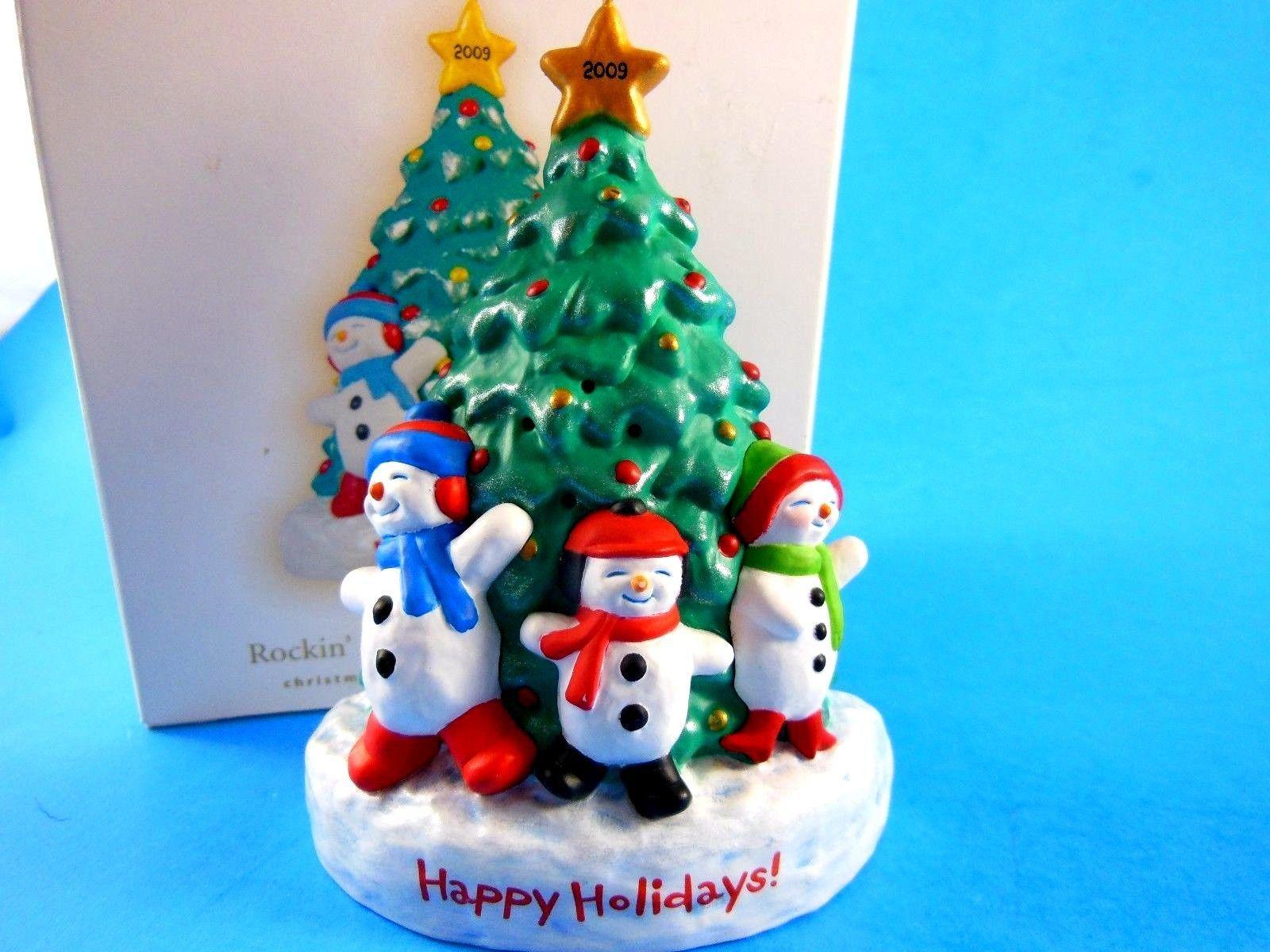 Recordable Hallmark Christmas Ornament Rockin' Around the ...