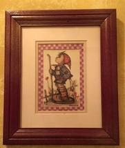 Framed Hummel Print - $11.99