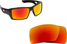 New SEEK Replacement Lenses Oakley EYEPATCH 2 - Polarized Fire Red Mirror - $17.35