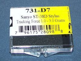 EV PM3097D SANYO FISHER ST38D ST-38 MG-38 MG38D replacement 731-D7 NEEDLE STYLUS image 3