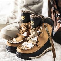 Timberland Toddler Chillberg Waterproof Winter Wheat & Black Boots 3581R - $1.159,57 MXN
