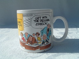 Russ Berrie & Co. Inc.Mug/Cup 'Get With The Program, Johnson' Illustration - $19.95
