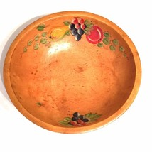 Vintage Antique Woodcrafty Hand Painted Wooden ... - $27.71