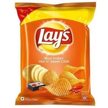 Lays Lay's West Indies' Hot 'n' Sweet Chilli 15 grams Pack 0.53 oz Potat... - $4.49+