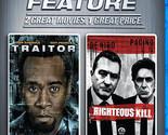 Righteous Kill/Traitor (Blu-ray Disc, 2009, 2-Disc Set)BRAND NEW! FREE & FAST SH