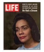 Life magazine -September 12, 1969 - Coretta Scott King cover - $7.64