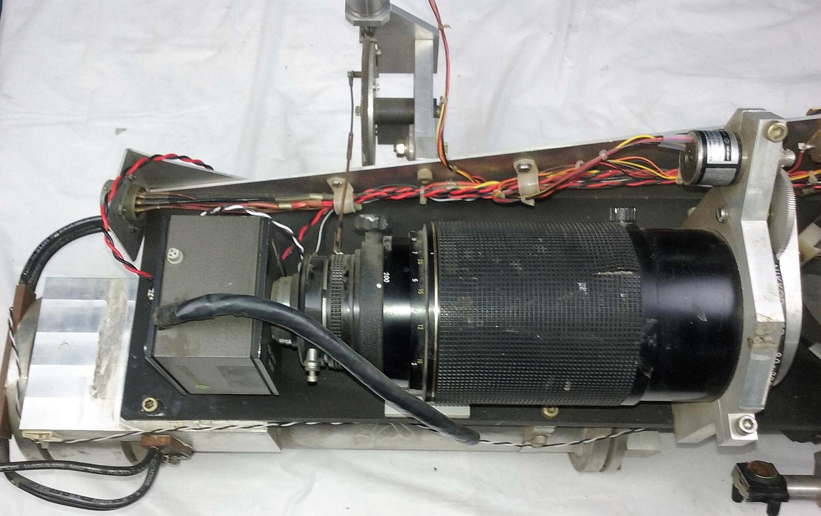 Newport Optical Mount 600A-4 Nikkor 80-200mm Lab Equipment Laser Photonics Lens