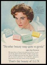 Jean Simmons Movie Star Lux Soap 1959 Photo Ad Beauty Health - $12.99