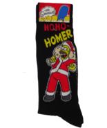 The Simpsons Homer Christmas Crew Socks - 1 pair (Shoe size: 6-12) - $13.99