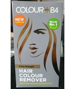 COLOUR B4 Hair COLOUR REMOVER Ammonia Bleach Free EXTRA STRENGHT New For... - $18.41