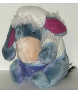 1/2 off! Disney Blue Eeyore Plush White Knit Sw... - $5.00