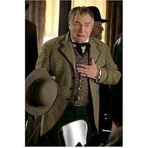 Deadwood Brian Cox as Jack Langrishe hat in one hand gesturing to self 8... - $7.95