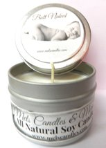 Butt Naked - 4oz All Natural Soy Candle Tin Approximate Burn Time 36 Hours - $5.99