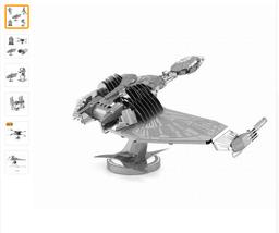 Star Wars 3D Metal Puzzles Assemble A4 - $17.00