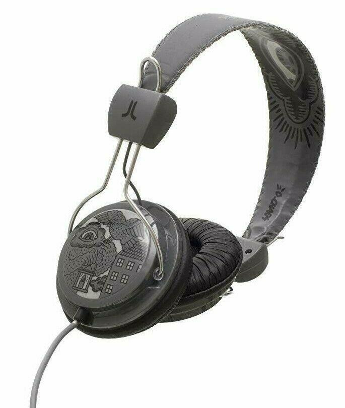 WeSC Limited Edition Birdy Nam Premium Gray Over the Ears Headphones NIB