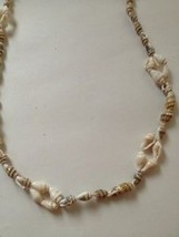 long shell necklace natural - $19.99